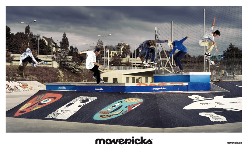 Mavericks Team Ad